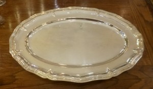Plat Christofle, 240 €