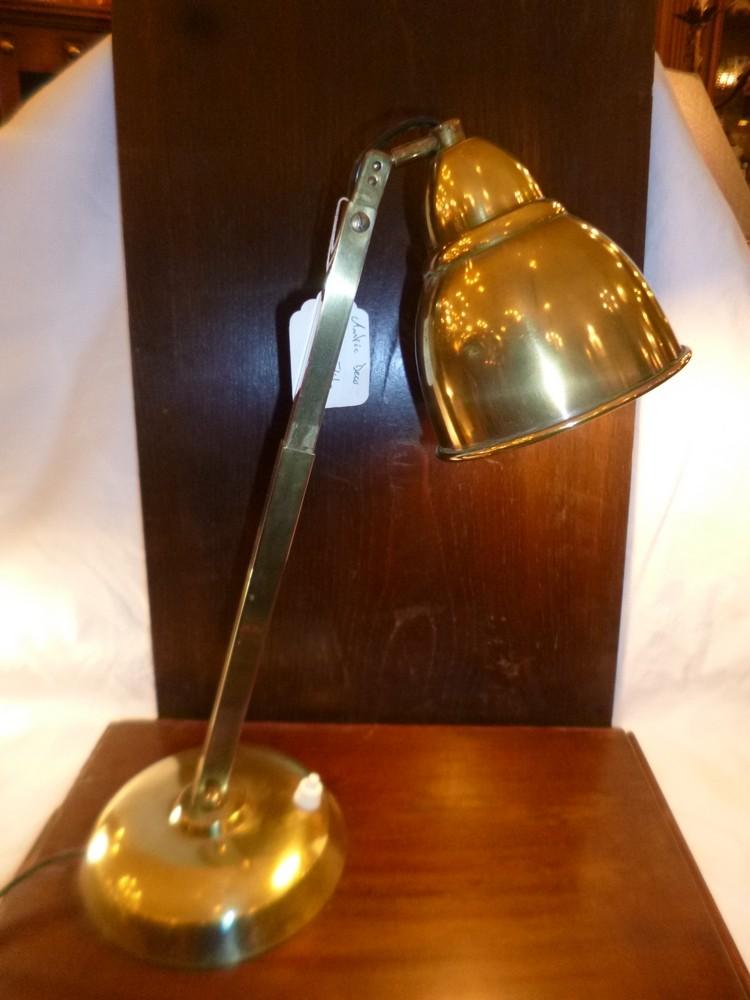 Lampe Bureau Laiton 120 Antic Deco Et La Marotte D Amelie