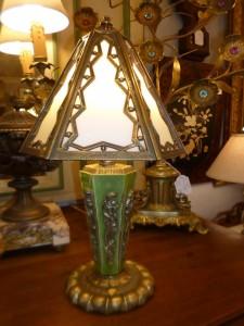 Lampe Art-Déco, 210 €