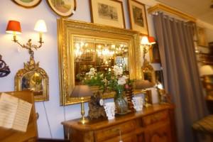 Grand Miroir bois doré, 950 €