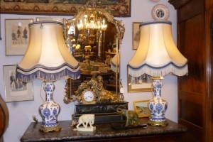 Paire de Lampes, faïence de Delft, 480 €
