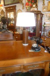 Lampe bois, 160€