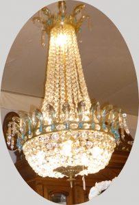 Grand Lustre Montgolfière, 1100€