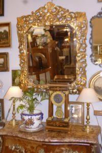 Miroir bois doré,550€