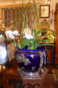 Cache Pot Napoléon III, émaillé, 180€
