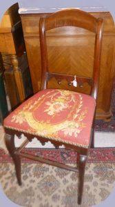 Chaise Acajou,65€