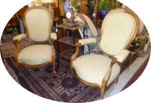 Paire de fauteuilsLouis-Philippe,340€