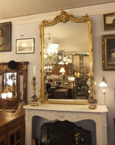Cheminée Marbre blanc,1200€