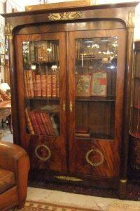 Ensemble Bibliothèque et Bureau Empire,1200€