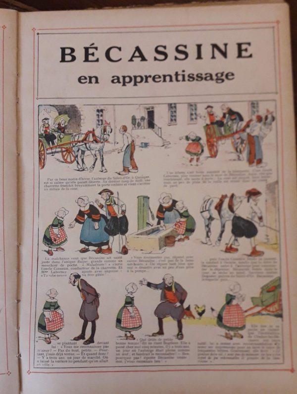 Bécassine, BD 1919