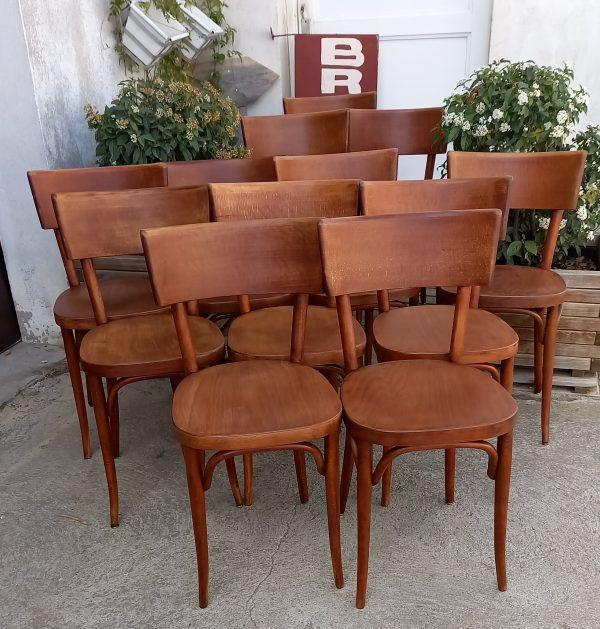 Chaises Baumann, Mobilier bistrot, Chaises Vintage