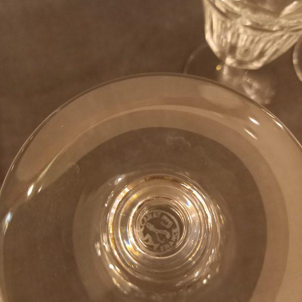 Service de Verres Cristal de Baccarat