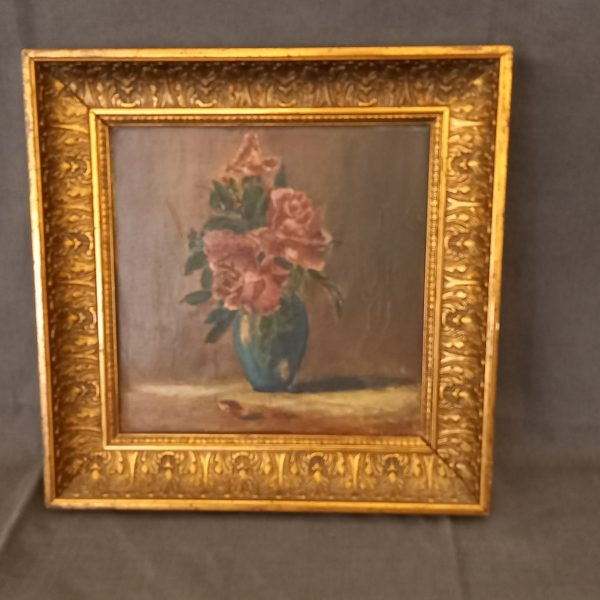 peinture fleurs
