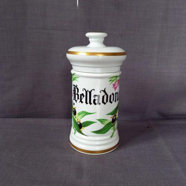 Pot à pharmacie Belladone