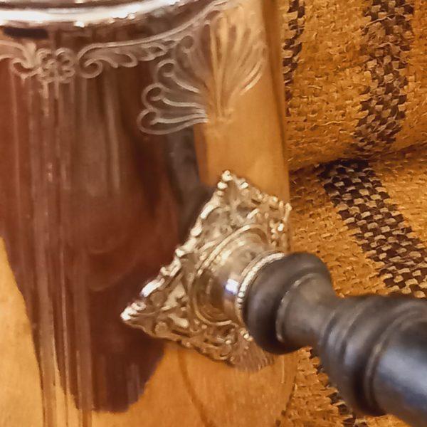Chocolatière métal argenté