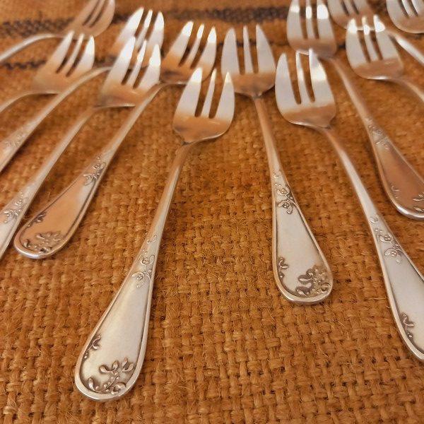 Fourchettes à huitres Ercuis