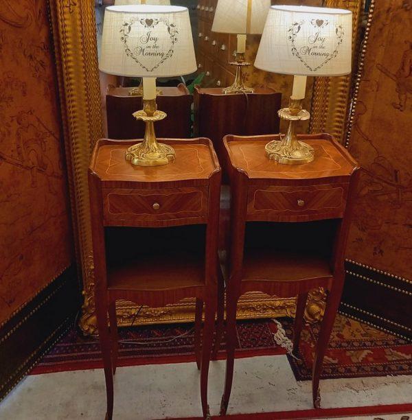 Paire de Chevets, Style Louis XV