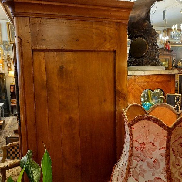 petite armoire ancienne, style Louis XV, XIXè