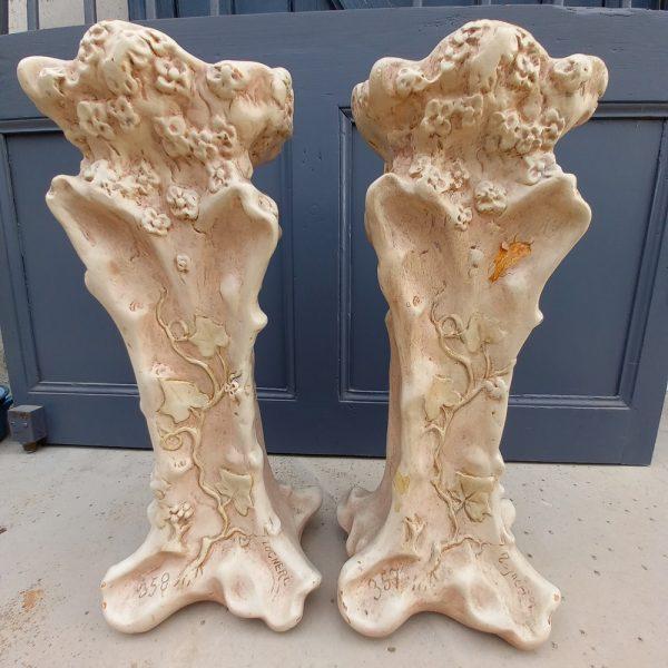 Paire de Vases Art-Nouveau, T OCNERI