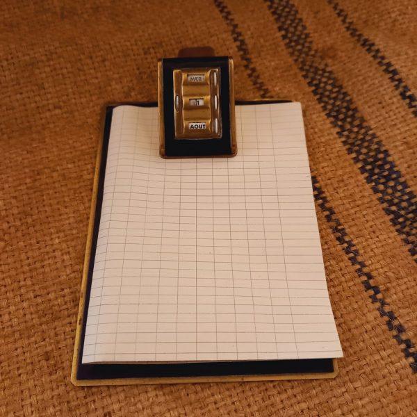 Bloc Notes-Calendrier Perpétuel