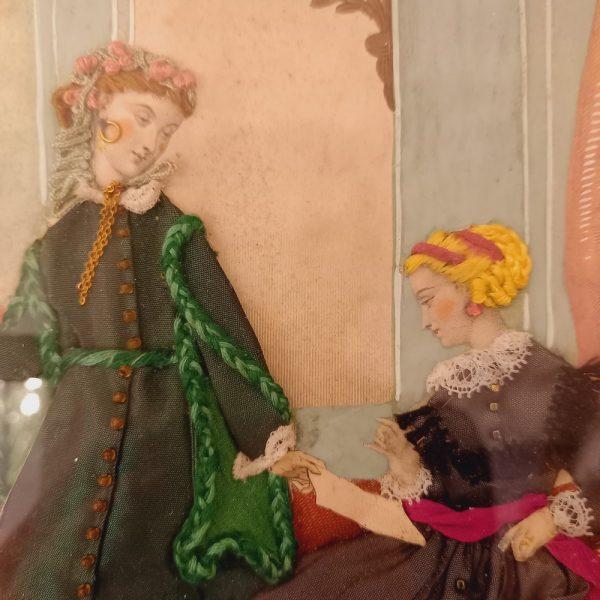 Gravure de Mode habillée, Napoléon III La Mode Illustrée