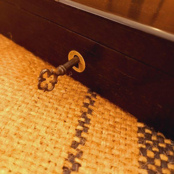Coffret en Palissandre avec sa clé